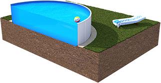 Poolzubeh r kaufen sandfilteranlage poolleiter for Einbau gartenpool